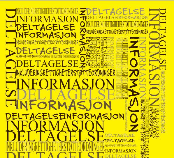 Pårørende - deltagelse informasjon inkludering rettigheter støtteordninger