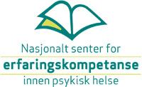 Logo til Nasjonalt senter for erfaringaskompetanse innen psykisk helse.